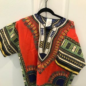 70s Men's Hippie Costume Shirt